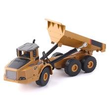 Autotruck Anak Laki-laki Mobil Hadiah Excavator Kendaraan Rekayasa Koleksi Diecast Simulasi Model Anak Truk Dekorasi Mainan Paduan