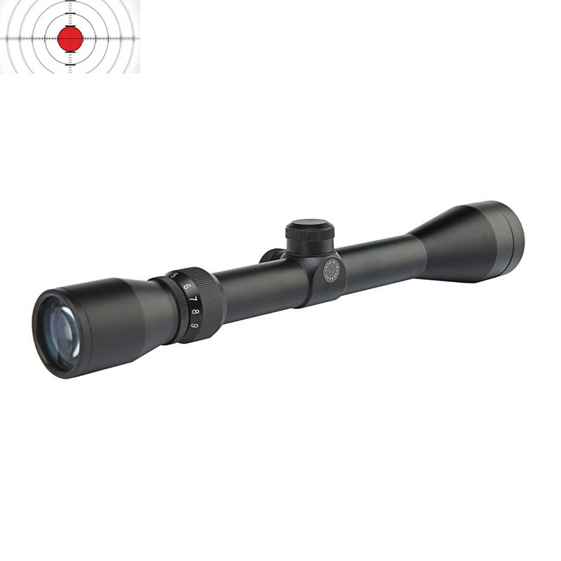 3-9*40 Rifle Scope With Dual-Illuminated Mil-Dot Reticle Reflex Gun Sight  Tactical Optical Sight RifleScopes