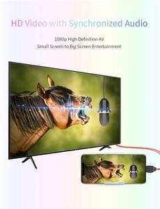 Image 5 - Mikro USB tip C IOS HDTV kablosu ayna ekran adaptör bağlantısı IPhone 11 Pro Max 8 IPad Samsung S8 s9 S20 + Android telefon TV