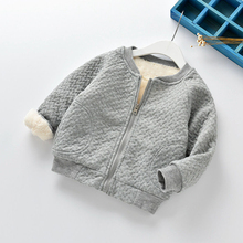 Kids Baby Boys Girls Warm Jacket Clothes