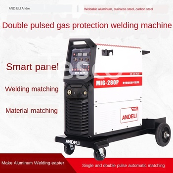 MIG / NB-200 / 350/500 pulse two welding welding 220V / 380 gas protection aluminum body sheet metal welding machine nb mig 270315 gas shielded welder power supply plate carbon dioxide welding machine circuit board