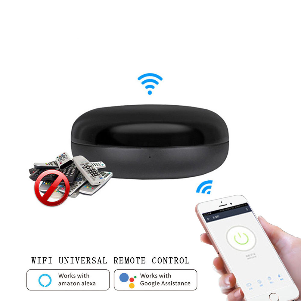 WIFI Smart IR Remote Control Infrared Universal Smart Life APP Control One For All Control  Works With Alexa Google Home