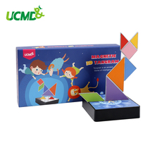 Magnetic Three-dimensional jigsaw puzzle Creativity Math Imagination Cognition Children Early Learning Educational Game Toy Gift