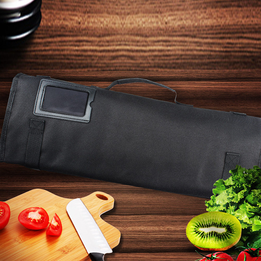 Storage Strap Roll Portable Chef Knife Bag Large Capacity 8 Pocket Slots Oxford Cloth Accessories Multifunctional Professional