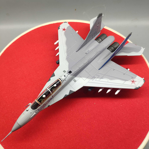 MIG35 Fighter Model 1/100 Scale Russia Fulcrum MIG-35 aircraft airplane fighter model children toys for display show collections