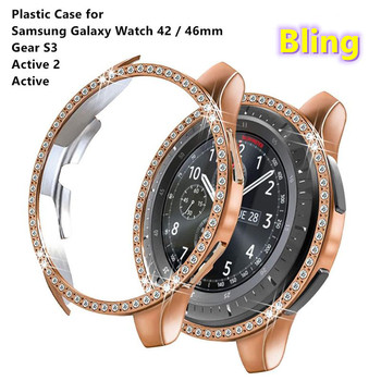Duoteng Plastic Case for Samsung Gear S3 Cover for Samsung Galaxy Watch 46mm 42mm PC Cover Protective Plating Case for Active image