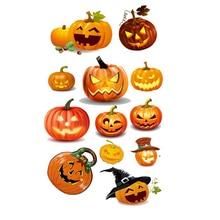 AZSG Various Halloween Pumpkin Head Silicone Clear Stamps/Seals For Scrapbooking DIY Clip Art / Album Decoration  Stamps Crafts