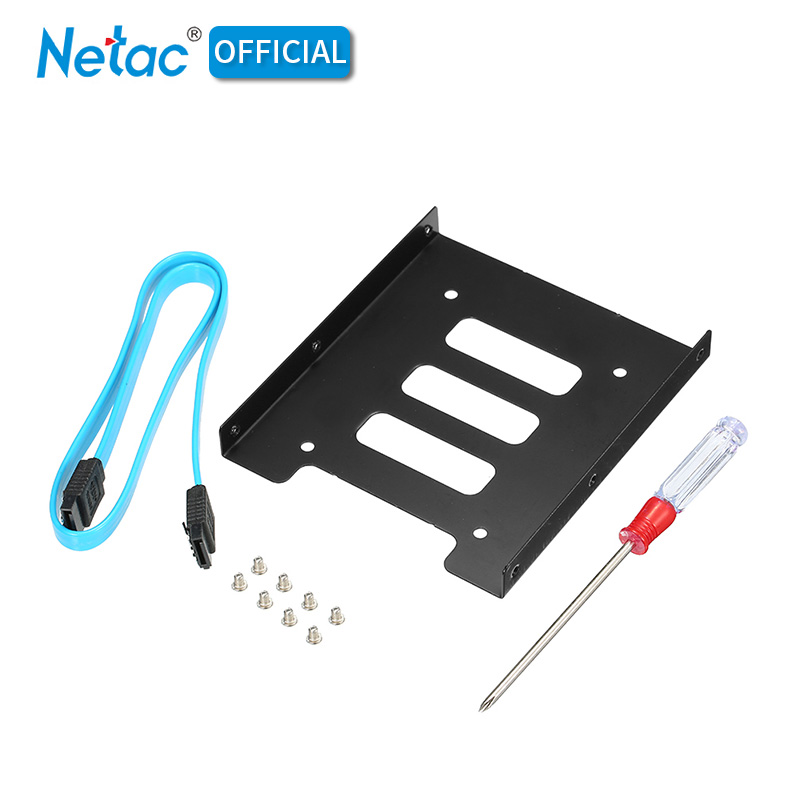 """SSD to HDD Adapter 2.5/"""" to 3.5/"""" Secure Mounting Adapter Bracket Dock Mount"""