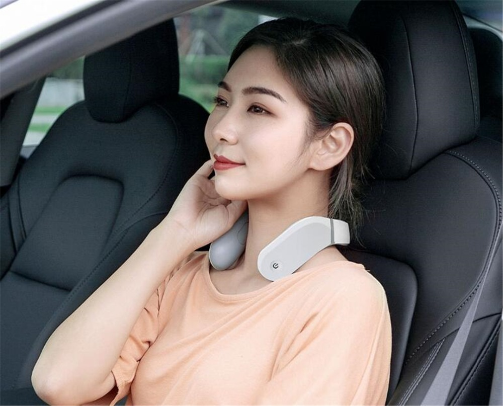 Xiaomi Jeeback Cervical Massager G2 TENS Pulse Back Neck Massager Far Infrared Heating Health Care Relax Work With Mijia App (1)