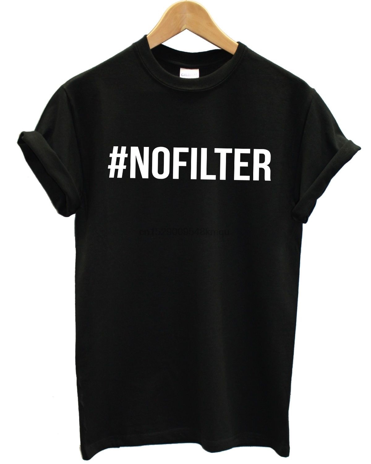 #NOFILTER T Shirt Tee Top Baggy No Filter Hashtag Selfie Mens Womens Girls Gift Print T-shirtHip Hop Tee ShirtNEW ARRIVAL tees
