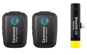 Image 4 - Saramonic Blink 500 Dual ไมโครโฟนไร้สายB1 B2 B5 B6 2.4GHสำหรับCanon Nikon Sony Blink500