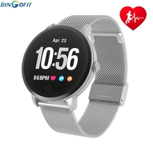 Gold Smart Bracelet Blood Pressure Heart Rate Monitor Blood Oxygen IP67 Fitness Tracker Smartband Smartwatch Health