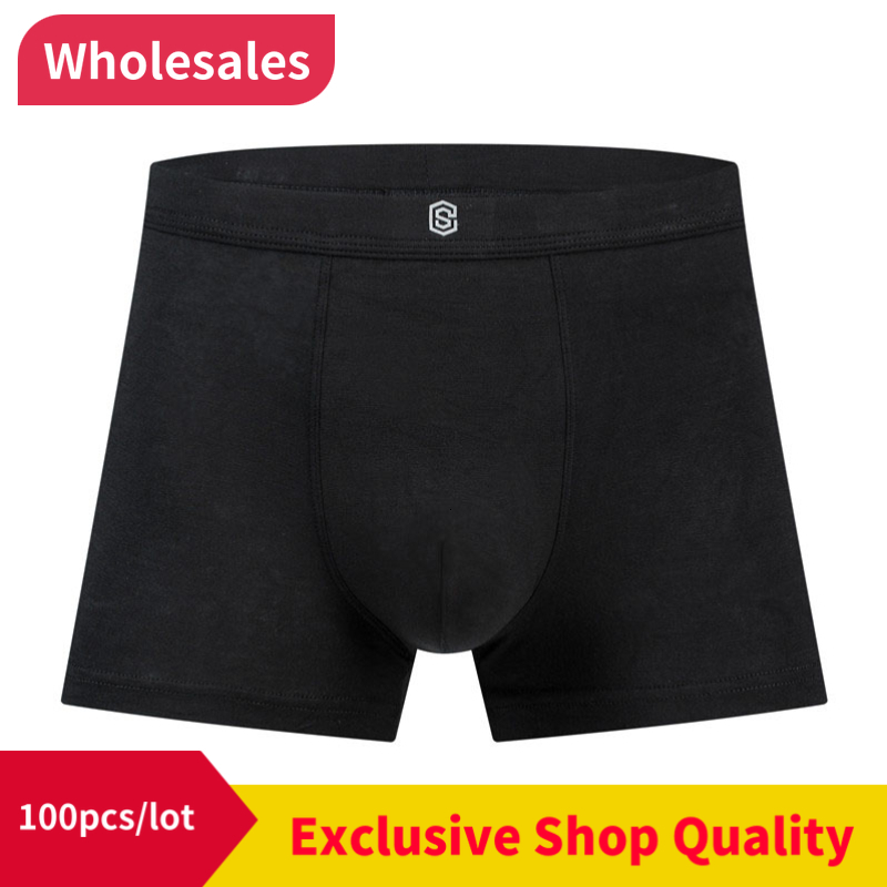100pcs/lot But Boxing Underwear Man Bottoms Underwear Summer Boxing Shorts While Drinking Men's Boxers 44579