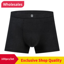 100pcs/lot but boxing underwear man bottoms underwear summer boxing shorts while drinking men's boxers 44579(China)