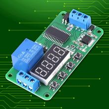 DC 12V 1 Channel timer Delay Relay LED Timer Switch Controller Module Board PLC voltage relay