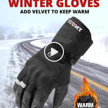 Motorcycle-Gloves Touch-Screen Riding-Guantes Waterproof Winter