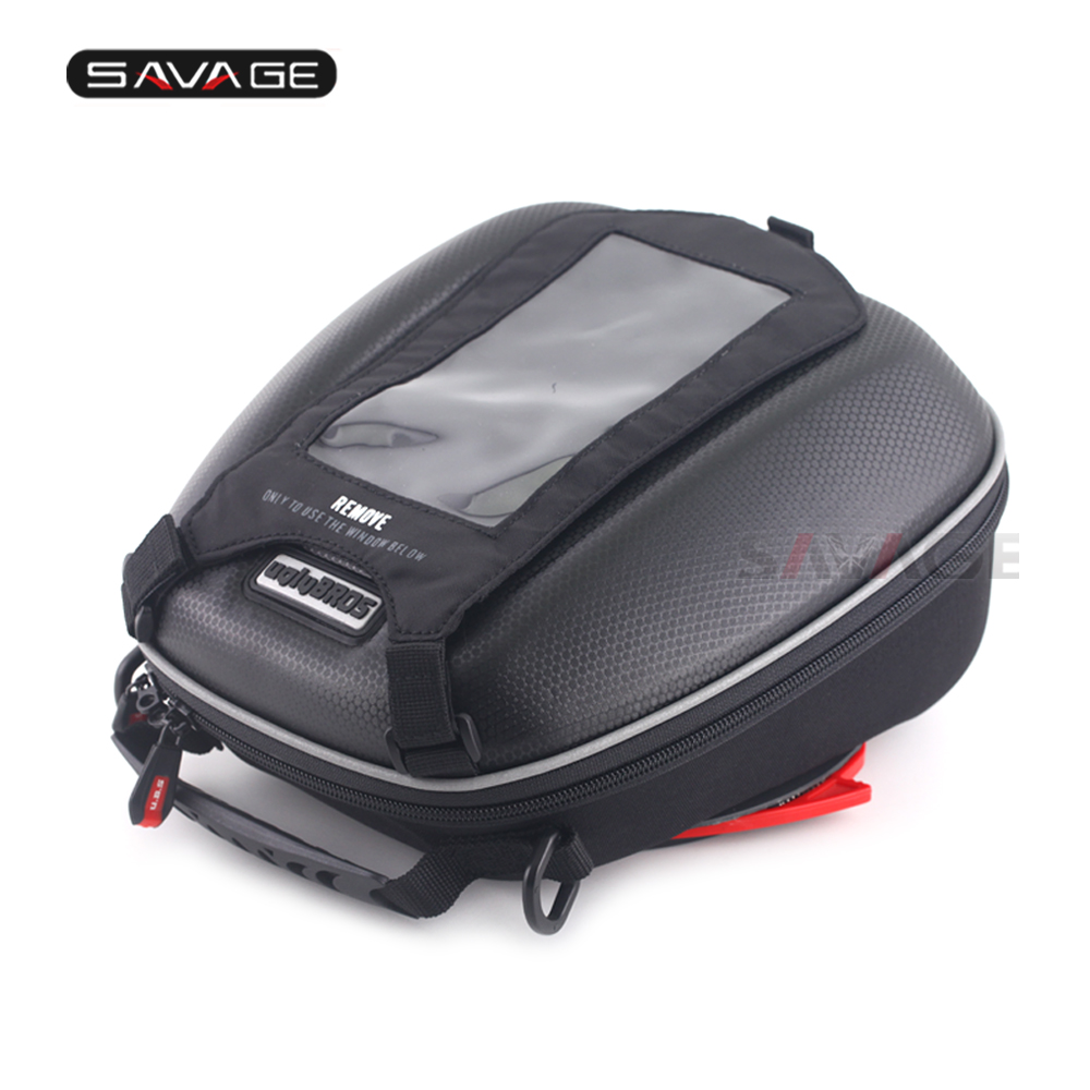 Tank Bag For KAWASAKI Z750 Z750R Z800 Z1000 Z1000R Z1000SX ER-6N ER-6F Motorcycle Multi-Function Phone Navigation Racing Bags