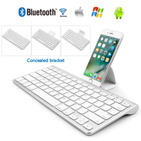 Portable Wireless Bluetooth Keyboard for iPhone iPad Tablet Android/IOS/Windows Mini Laptop Keyboard for iPad Air2 Pro10.5 Pro11