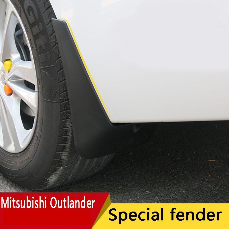 07-2019 for Mitsubishi Outlander fender new Outlander original original special modified decorative car accessories mudguard