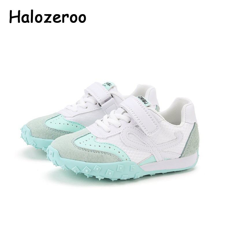 Spring Kids Sport Sneakers Baby Girls Mesh Casual Sneakers Boys White Running Shoes Children Brand Chunky Sneakers Trainers 2020