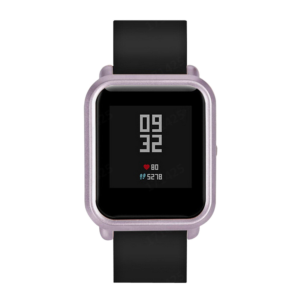 CARPRIE Watches Case CoverSlim Colorful Frame PC Case Cover Protect Shell For Huami Amaz Fit Bip Youth Watch Cover-L919