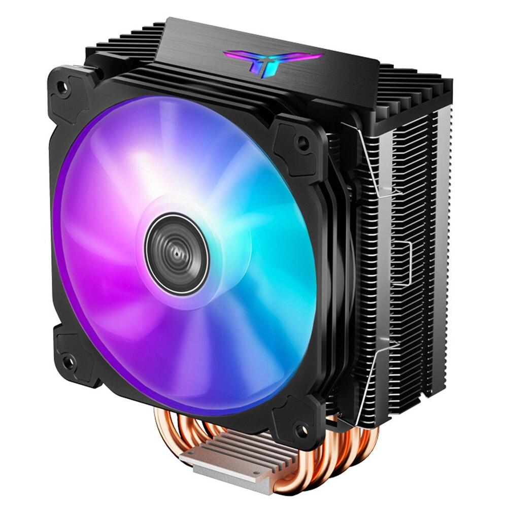[해외] ONSBO CR1000 PRO 컬러 라디에이터 6 히트 파이프 CPU PWM 4 핀 12CM 색상 속도 조절 - ONSBO CR1000 PRO 컬러
