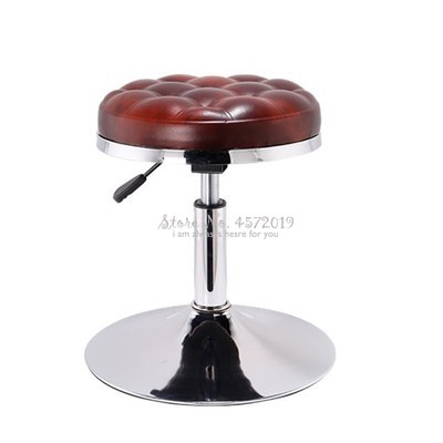 Bar Chair Modern Simple Beauty Stool Bar Stool Rotary Lift Chair Household Round Stool High Stool Chair Backrest