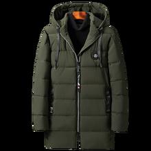 Мужская зимняя куртка с капюшоном новая Толстая теплая свободная