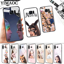 Ariana Grande Lovely Cartoon Glass Case for Samsung S7 Edge S8 S9 S10 Plus S10E Note 8 9 10 A10 A30 A40 A50 A60 A70 стоимость