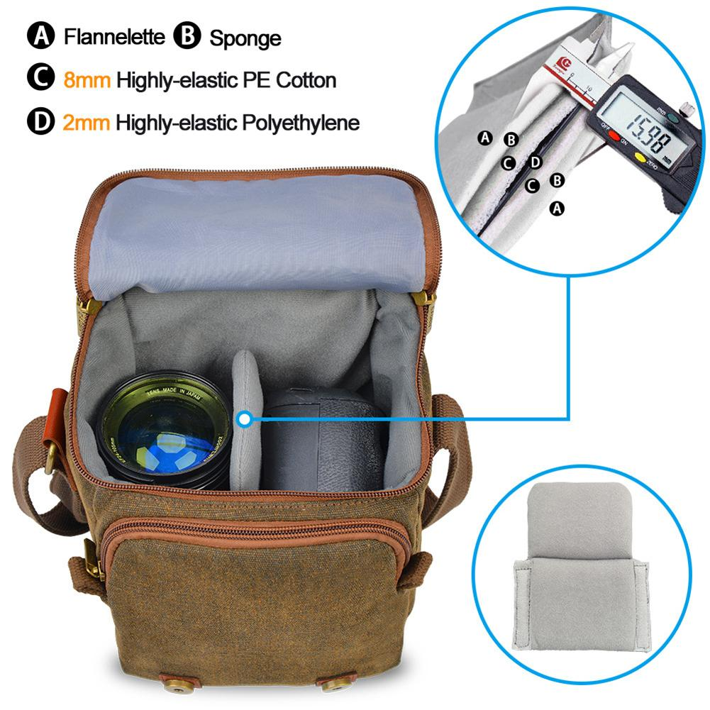 Камера мешок цифровой DSLR SLR сумка водонепроницаемый противоударный водонепроницаемый хранение камеры для Nikon канона Sony камеры Olympus контейнер