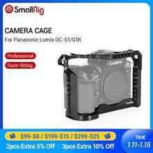 Gaiola smallrig para panasonic lumix DC S1 e gaiola de câmera s1r com sapato frio e trilho da otan 2345