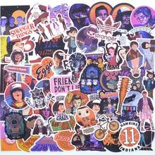 100 PCS Very Stranger Things Stickers Pack . For kids Boys On The Laptop Fridge Phone Skateboard Luggage Movie Stanger Sticker