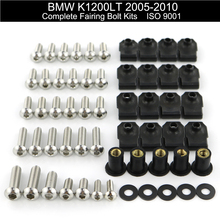 For BMW K1200LT 2005 2006 2007 2008 2009 2010 Complete Firing Full Fairing Bolt Kit Nuts Clips Motorcycle Side Covering Bolts