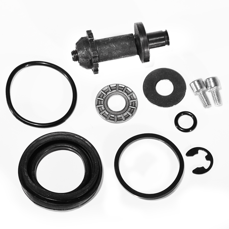 Caliper Repair For VW Passat B6 B7 CC Tiguan Sharan RSQ3 Q5 A4 A5 A6 Seat Alhambra 12 Teeth Rear Wngine Brake Caliper Repair Kit