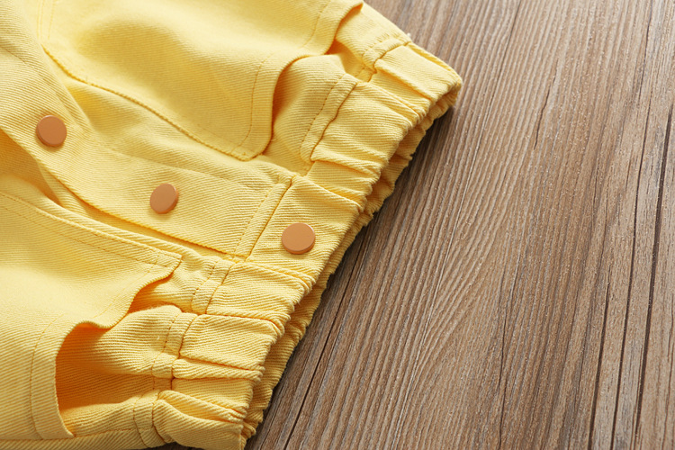 Юбка для девочек; однотонная саржевая юбка с поясом; юбка трапециевидной формы; сезон весна;