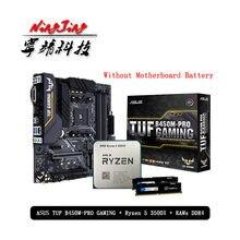 AMD Ryzen 5 3500X R5 3500X CPU + Asus TUF B450M PRO GAMING Motherboard + Pumeitou DDR4 2666MHz RAMs anzug Buchse AM4 Ohne kühler