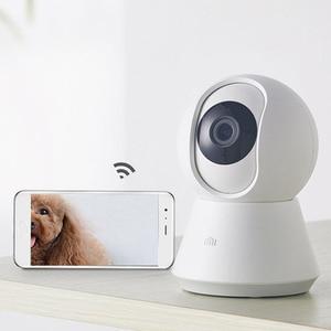 Image 4 - Умная Молодежная камера Xiaomi Mijia chuang mi, веб камера 1080P, Wi Fi, наклон в двух плоскостях, ночное видение, угол обзора 360 градусов, видеосъемка Baby Monit
