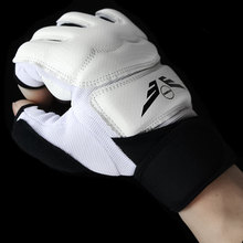Полиуретановые Боксерские перчатки с полупальцами, бесплатные боевые перчатки с песком, бои, Муай Тай, тренировочный бокс для подростков, Боксерский набор для взрослых мужчин и