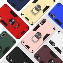 Nova 5T Case on for Etui Huawei Y5 Y6 Y7 Y9 Pro 2019 2018 Honor 9X 8A Covers Huawei P40 P30 P20 Mate 20 Lite Magnetic Ring Cases(China)