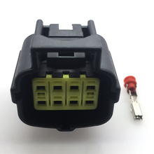 2 pcs/sets TYCO/AMP 8 Pins/Way Female Sealed Waterproof Wiring Harness Car Electrical Connector Plug For Truck