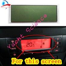 에어컨 LCD 스크린 디스플레이 난방 시트 레온 톨레도 픽셀 수리를위한 기후 제어판
