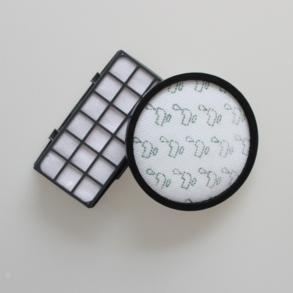 2pcs/lot Filter Kit For Rowenta HEPA RO7611 RO7623 RO7634 RO76 Vacuum Cleaner Parts Kit Compact Power Accessories