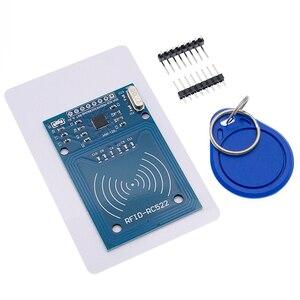 Image 2 - 50pcs MFRC 522 RC522 RFID RF IC card sensor module to send Fudan card, keychain
