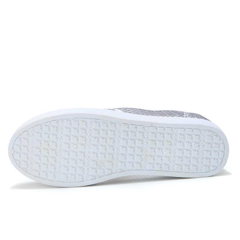 Bán Giày Nữ Cho Nữ Giày Slip On Trơn Phẳng 2020 Lưới Mùa Hè Giày Nhẹ Cho Nữ Chaussures Femme Rổ Bãi 7720