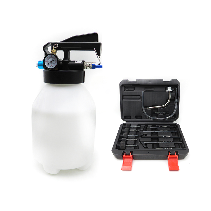 6L Pneumatic Automatic Transmission Fluid Changer Oil Change Transmission Dispenser ATF Filler System With Adapters