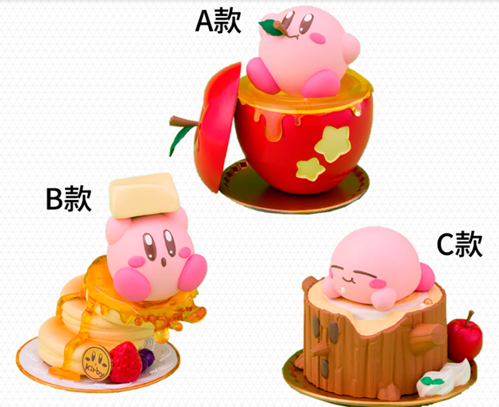 Original Twinkle Popo Kirby Figure Meta knight Galacta Knight King DeDeDe 6CM PVC Action Figure Toy Collection Model image