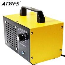 ATWFS لتنقية الهواء مولد أوزون 220 فولت 60 جرام/48 جرام/36 جرام منقي هواء اوزونو تطهير التعقيم بالأوزون تنظيف الفورمالديهايد