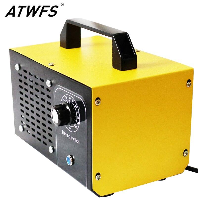 ATWFS אוויר מטהר אוזון גנרטור 220V 60g/48g/36g אוויר מנקה Ozono חיטוי עיקור ozonizer ניקוי Formaldehy