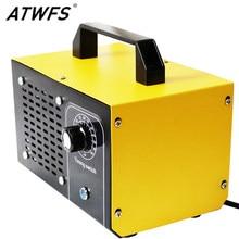 ATWFS-purificador de aire generador de Ozono, ozonizador de desinfección, esterilización, limpieza de formaldehído, 220V, 60g/48g/36g