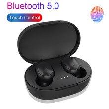 TWS Bluetooth Earphones HiFi Stereo Wireless Headphone Sport Headset IPX7 Waterproof Wireless Earphone Bluetooth 5.0 Headphones